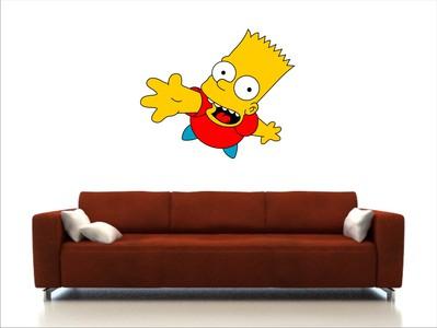 Барт Симпсон 60х50
