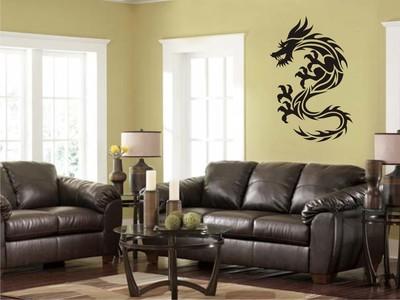 гербовый дракон 50х75см