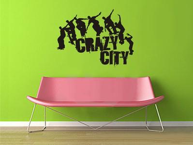 сrazy city 76х58см