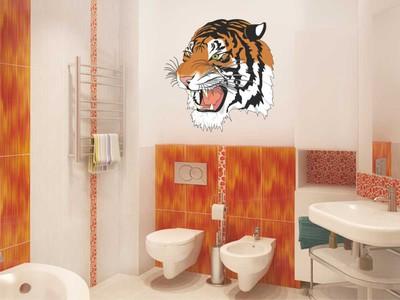 тигр 56х58см