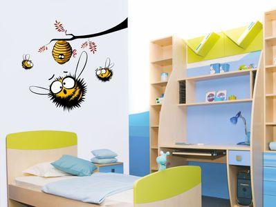 пчелиный рой 60х54см