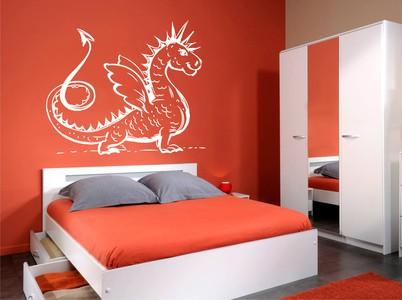 длиннохвостый дракон 68х58см