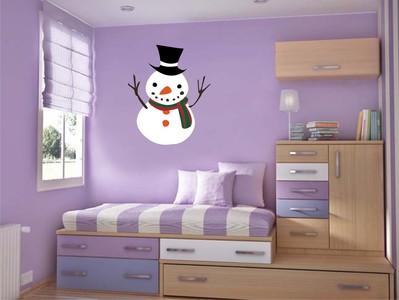 снеговик 50х60см