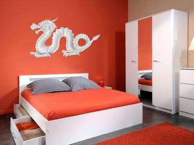бумажный дракон 72х40см
