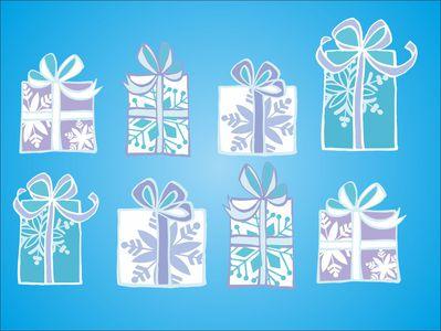 подарки 8шт по 12 см