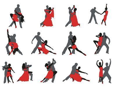 танцоры 13 по 30 см