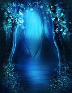 волшебный лес 155х200см