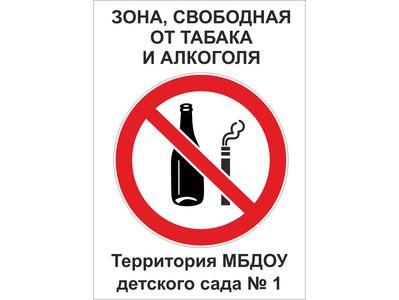 Алкоголь и курение запрещены