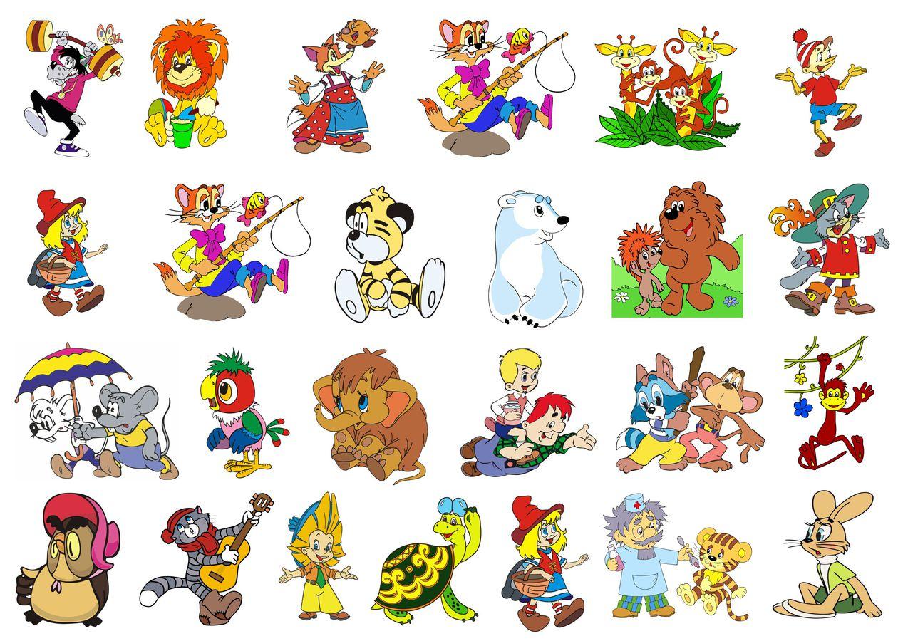 рисунки из союз мультфильмов
